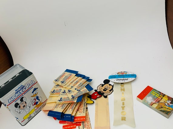 Lot Of Disney Collectibles--Vintage