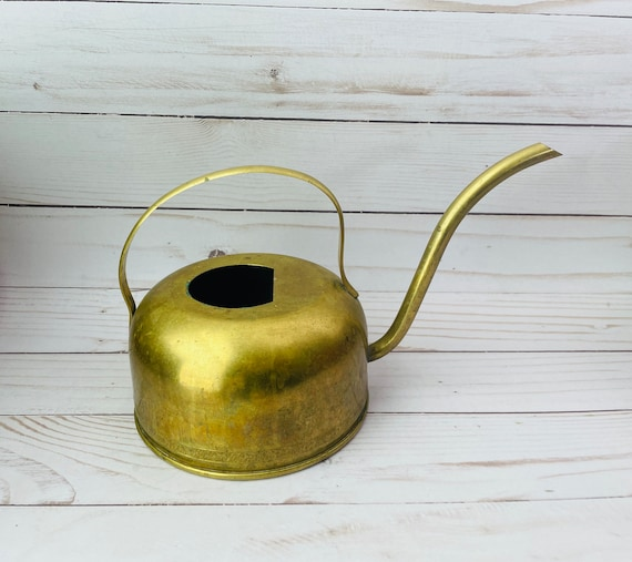 Brass Watering Can--Indoor Watering Can