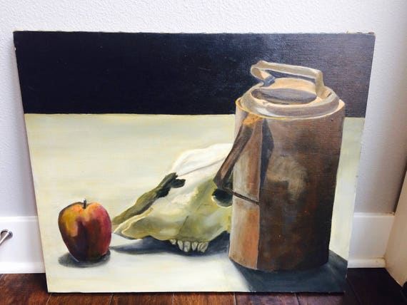 Vintage Original Still Life Painting