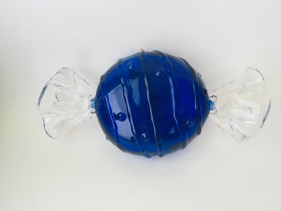 Vintage Hard Plastic Candy Shaped Box