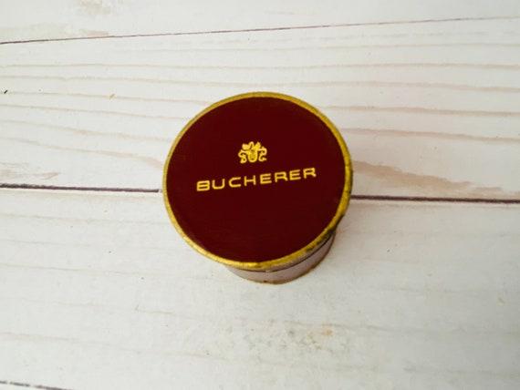 Vintage Bucherer Jewelry Presentation Box- Bucherer