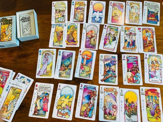 Tarot Cards - 1972  Vintage The Jesus Deck