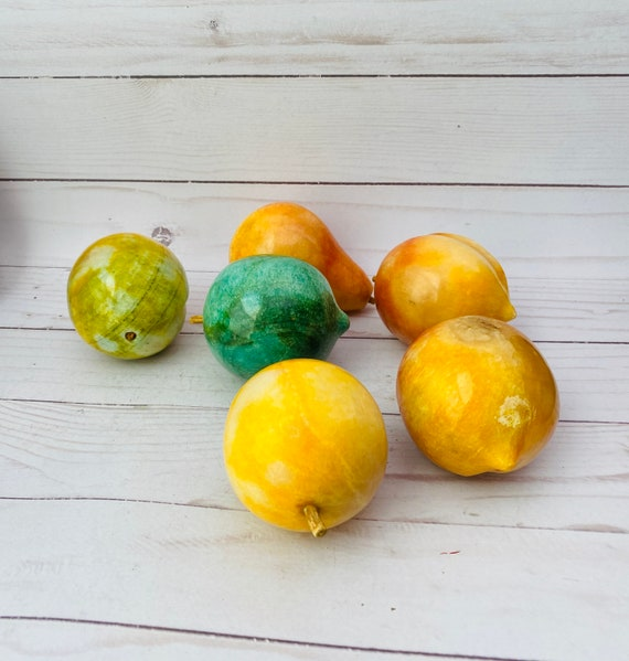Vintage Marble Fruit Collection--Marble Fruit