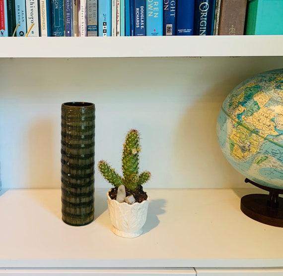 Vintage Ceramic Cylinder Vase