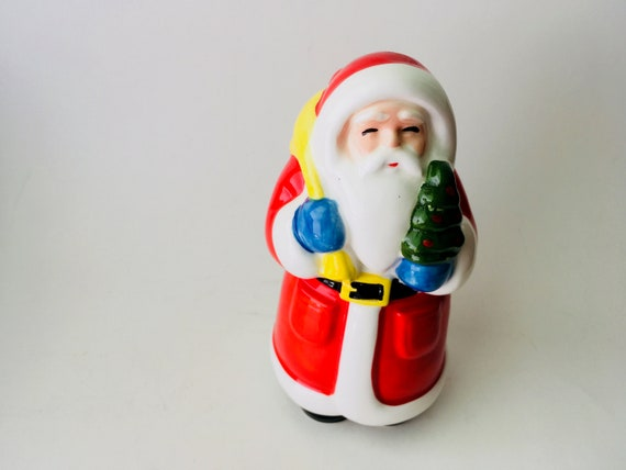 1979 Ceramic Santa Coin Bank Made In Japan By A Company Of Friends