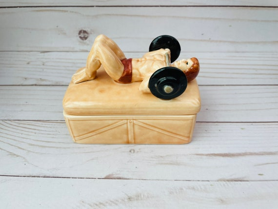 Muscle Man Vandor Imports Trinket Box