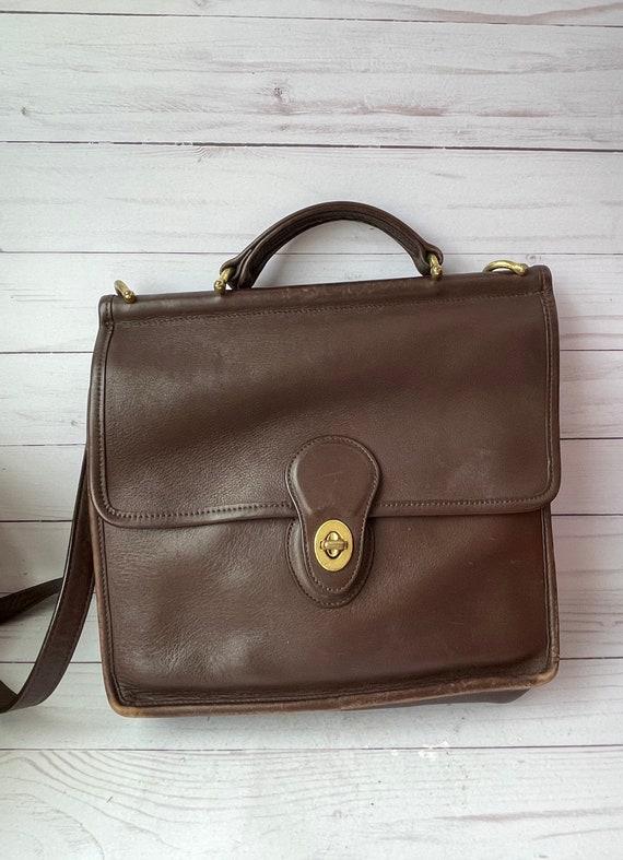 Coach Leather Bag, Vintage Willis Purse