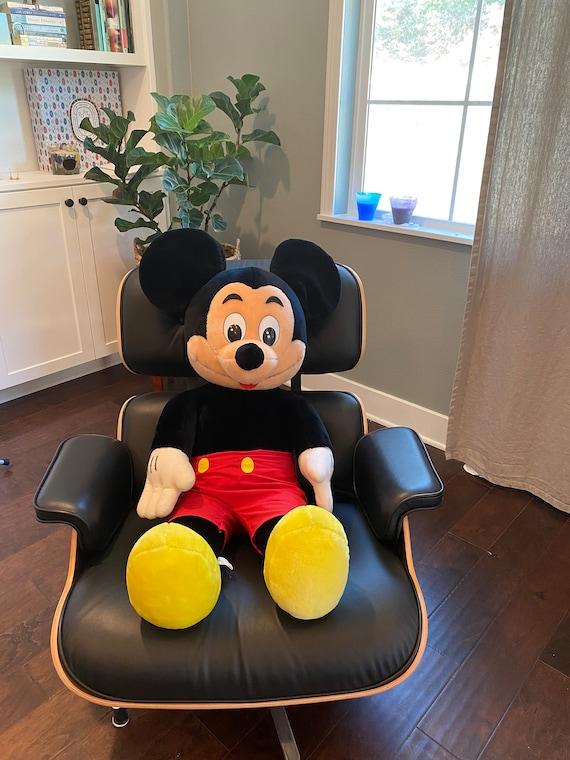 Giant Vintage Mickey Mouse Plush--Mickey Mouse Plush