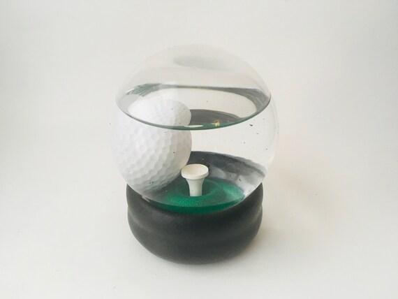Vintage Golf Paperweight- Golf Gift