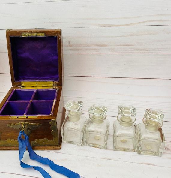 Bacarat Perfume Bottles Casket Box- Baccarat