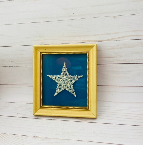 Framed Star Quilling- Paper Quilling