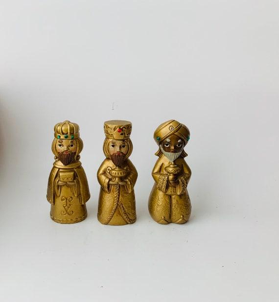 Vintage MCM 3 Wise Men Figurines