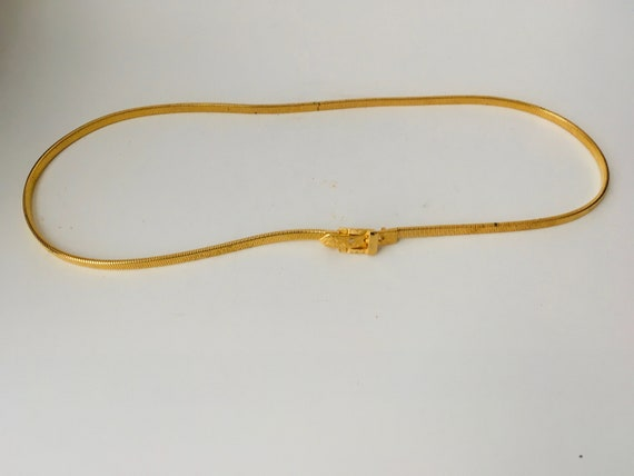 Vintage Accessocraft Gold Tone Belt