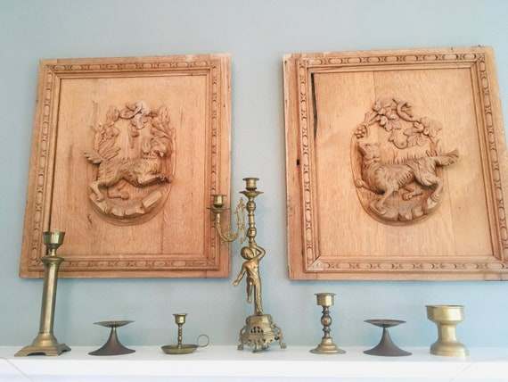 Brass Candlestick Holders - Vintage Lot