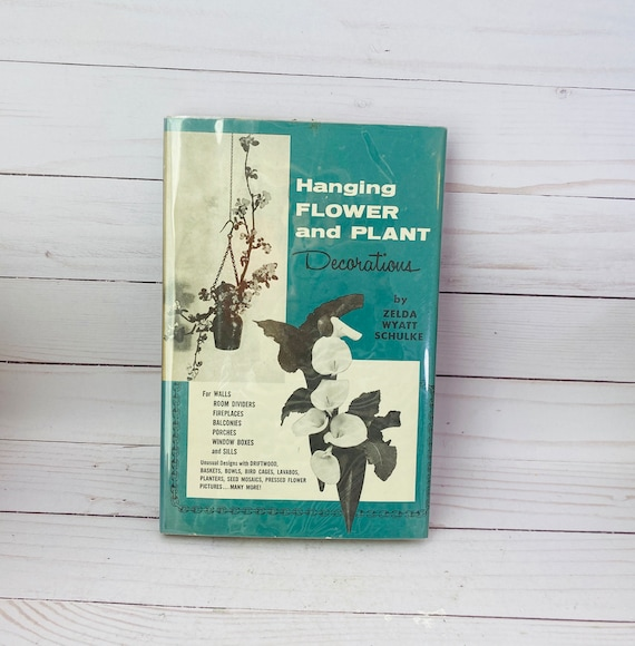 1958 Hanging Flower And Plant Decorations By Zelda Wyatt Schulke