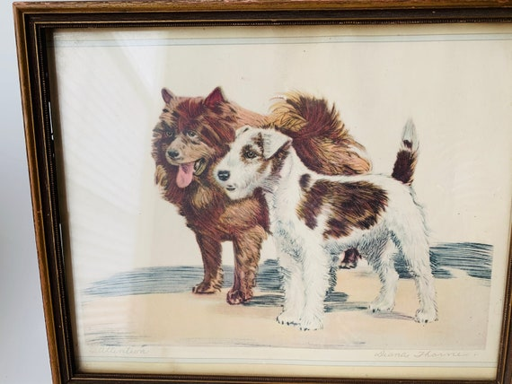 Diana Thorne Signed Lithograph- Attention Diana Thorne