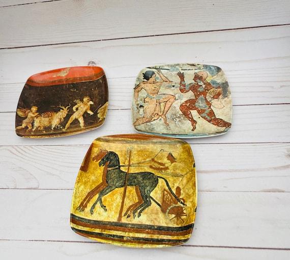 Jewelry Trays, Trinket Trays, Decorative Crafts Italian Plates