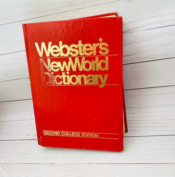 1984 Webster's NewWorld Dictionary