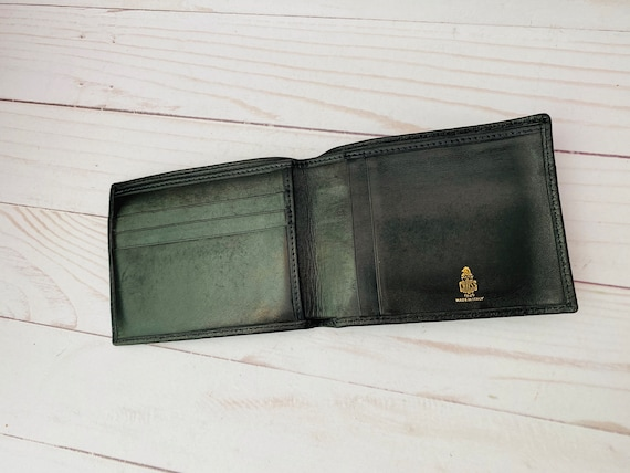 Mark Cross Leather Wallet