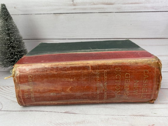 1906 Cassell's New German-English And English-German Dictionary --Karl Breul