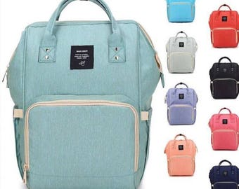 eb2d2663dc44 Monogrammed Diaper Bag Backpacks