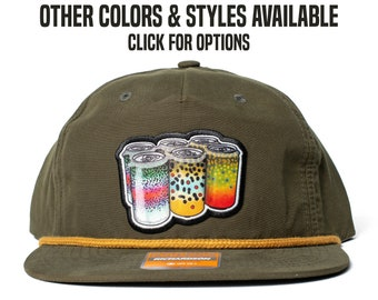 Trout 6-Pack Patch Hat - Fly Fishing Hat