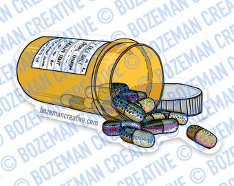 Trout Prescription - Fly Fishing Sticker