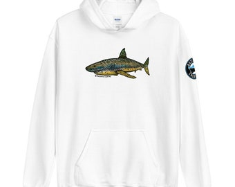 Shart (Shark - Trout) Fly Fishing - Unisex Hoodie