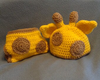 Giraffe baby set