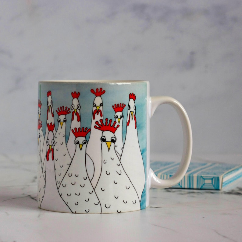 8fed399136a Hen Mug - Gifts for Her - Gifts for Home