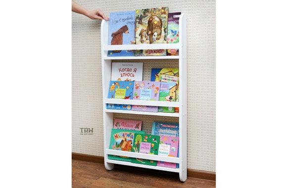 official photos f712a ad934 Children's Book Wall Shelf, Hanging Wall Bookshelf, fabulous bookshelf,  shelf for children's room, kids bookshelf, montessori home