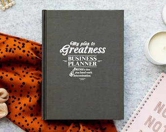 Business Planner / Undated Planner / Yearly Planner / Weekly Planner / Productivity Planner / Business Organiser