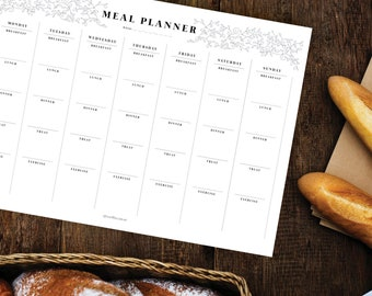 Meal Planner – notepad