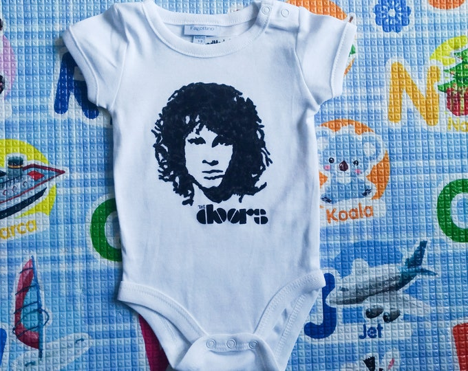 THE DOORS baby bodysuit, newborn, baby boy, baby girl, custom baby romper