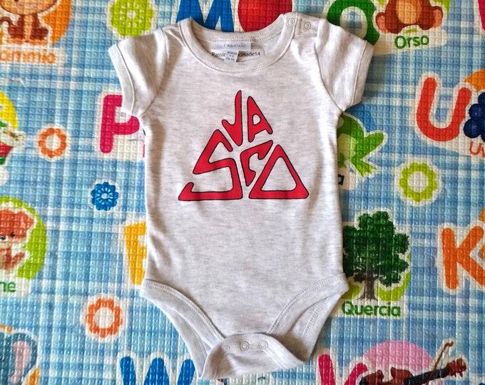 VASCO ROSSI baby bodysuit, newborn, baby boy, baby girl, custom baby romper