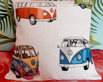 "Van, cover for pillow 18""x18"""