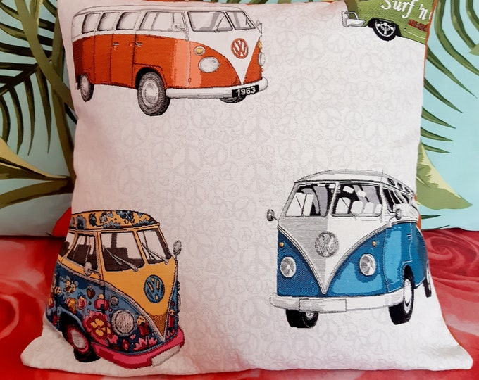"""Van, cover for pillow 18""""x18"""""""