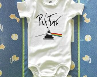 PINK FLOYD, Dark Side of the Moon and The Wall, baby bodysuit, newborn, baby boy, baby girl, custom baby romper