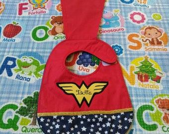 Wonder Woman bib, Marvel bibs, waterproof bibs, cotton bibs, handmade bibs, funny bibs, boy bibs, baby bibs, binky bib, custom bibs