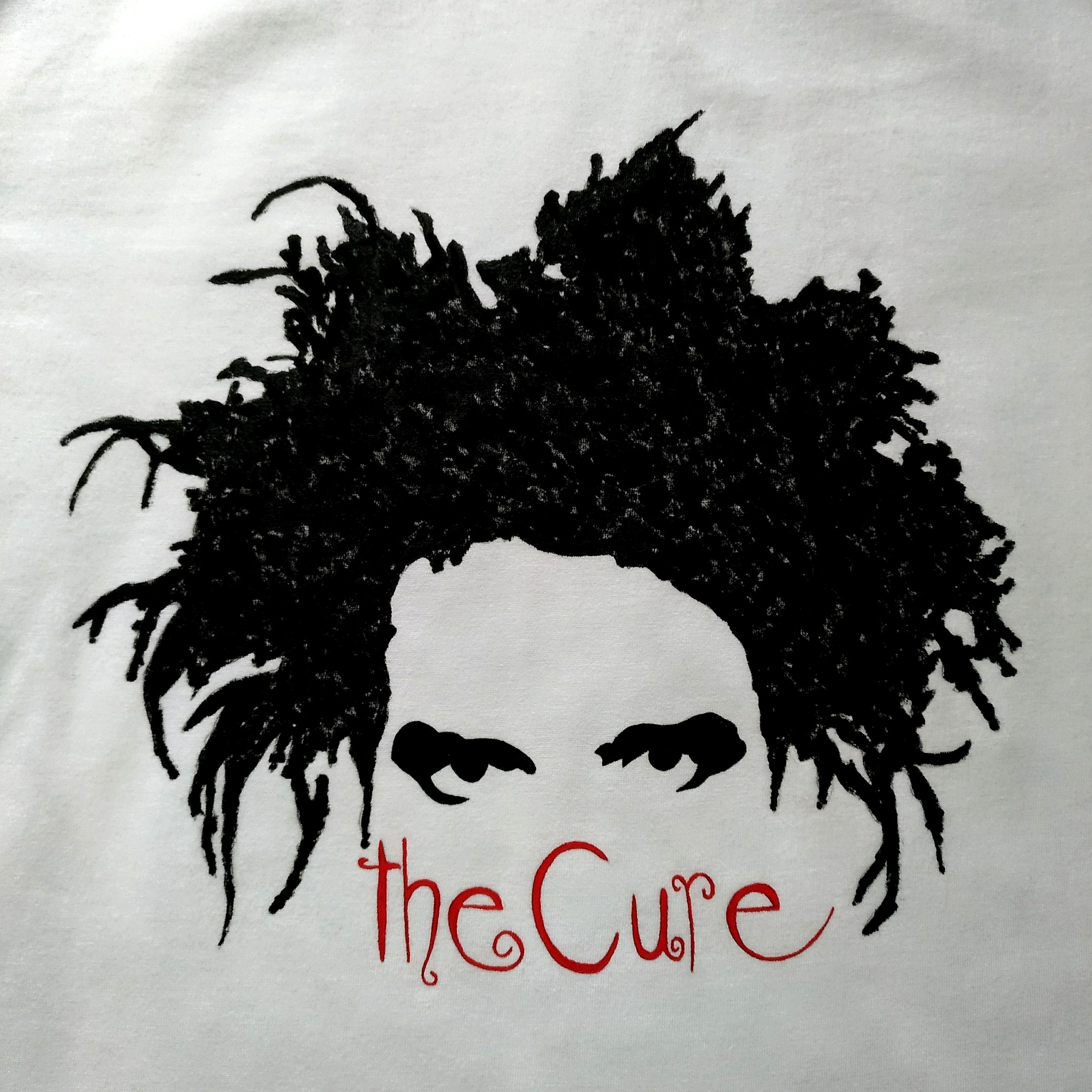 THE CURE tshirt, Robert Smith, music, rock music, rock band