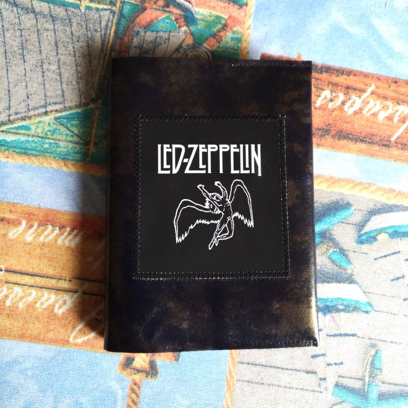 LED ZEPPELIN - QUEEN leather cover notebook A6