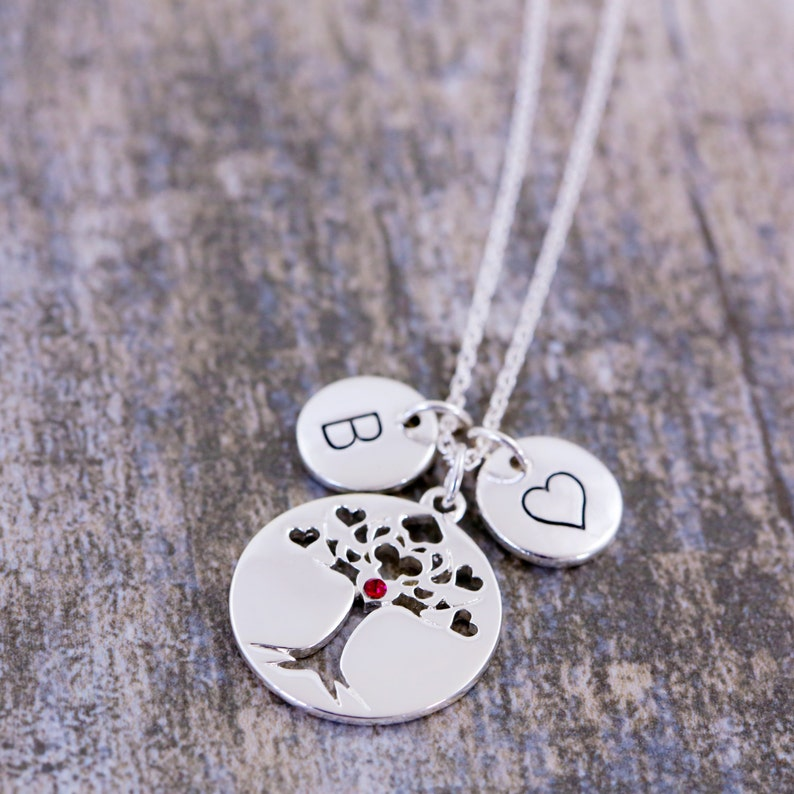 Family Necklace I Love You So Let Love Grow|S Love Grows Best Tree Of Life Jewelry Family Tree Tree-Of-Life Pendant Love Grows