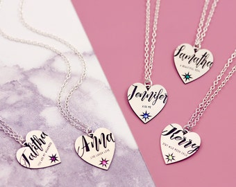 Dainty Name Necklace | Best Romantic Gifts | Sentimental Gifts | Message Center | Jewelry Gift For Me | Love Grows Best | Secret Message |