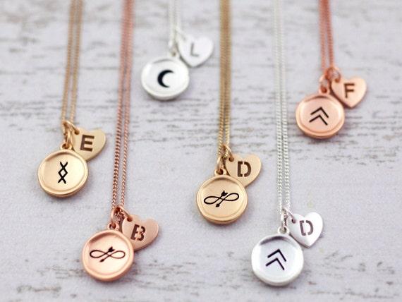 Boho Tatouage Collier Symbolique Symbole De Viking Etsy