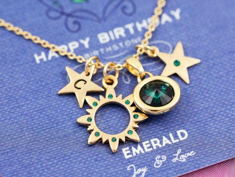 birthstone necklace birthday card happy birthday cards |G may birthstone birthstone necklaces birthstone jewelry emerald
