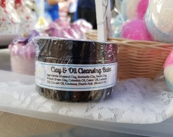 Clay & Oil Face Cleansing Balm