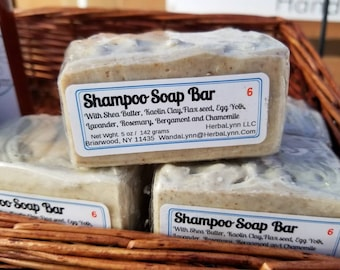 Herbal Shampoo Soap Bar