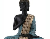 Feng-shui Lord buddhaHome Table Office decor Gift blessing buddha Idol Buddha Statue Sculpture Showpiece Yoga Meditation Polyresin Indian