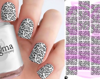 The Nightmare Before Christmas Nail Decals (Jack Faces Vol I) - Vol V (Set of 28)