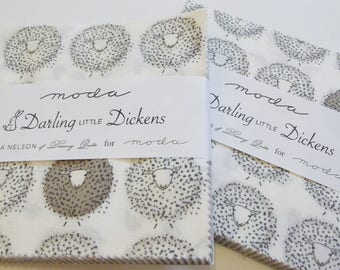 Darling Little Dickens fabric charm pack by Moda
